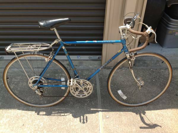 Vintage Schwinn Sierra Mens 10 Speed Bike w Rear Platform - $250 (Westheimer South Dairy Ashford)