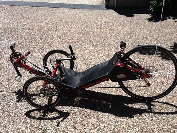 Recumbent Catrike - $1900 (League City)