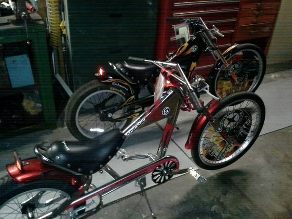 OCC Schwinn stingray chopper bicycles - $700 (Baytown Texas)