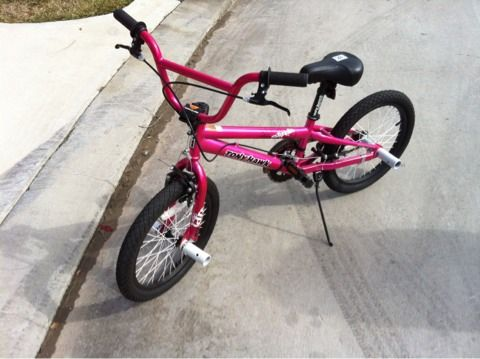 Girls 18 Pink BMX Bike - Tony Hawk, magnolia - $55 (NE Houston (near Humble))