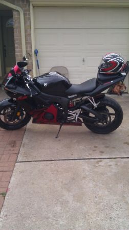 I have 03 r6 yamaha  15000 milles - $3500 (houston)