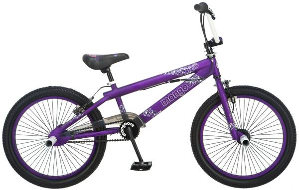 Mongoose Hoop D 20 Purple BMX bike LIKE NEW BEST OFFERS ACCEPTED - $50 (Memorial Dr.Dairy Ashford Dr.)