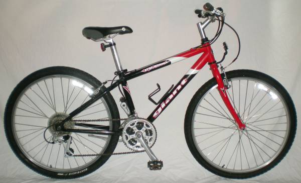 GIANT Upland RIGID 21 Speed UNISEX Mountain Bike MTB Bicycle - $180 (Downtown Houston)