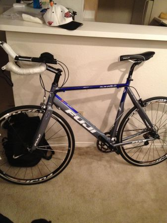 58 cm Fuji tri bike - $700 (League City)