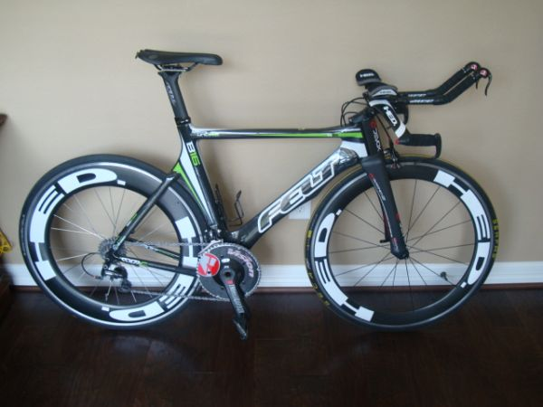 2011 Felt B16 TT Bike - Tons of Upgrades - $3000 (Tomball)