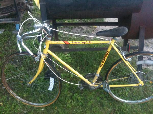 free spirit 10 speed - $25 (Tomball)