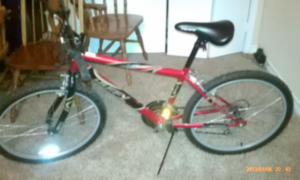 Huffy blackwater boys 15 speed - $40 (W. Houston)