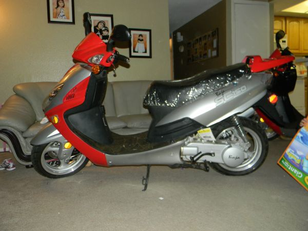 2008 baja sc150 moped  - $700 (spring branch )