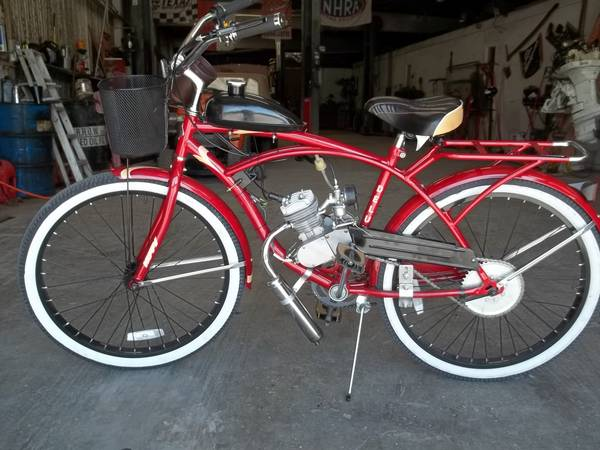 Motorized Bicycle new goes upto 40 mph 80cc gas engine - $495 (south houstonhobby airport area)