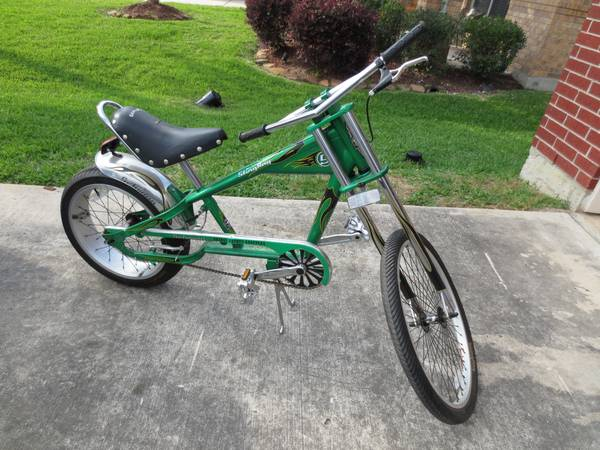 Green Orange County Copper Bike - $100 (League City)