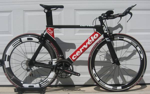 Cervelo P3 Carbon w HED Wheelset Option - $1795 (Canyon Lake, Tx)