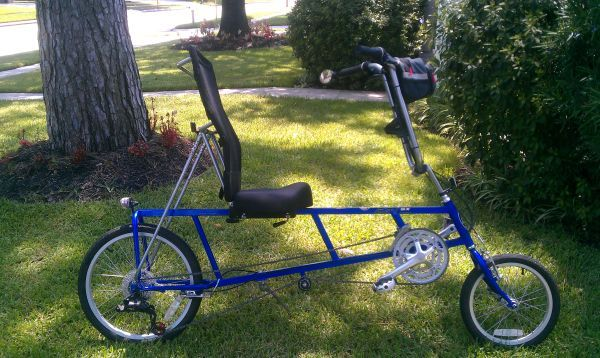 EZ-1 RECUMBENT BICYCLE - $400 (SPRING, TX)