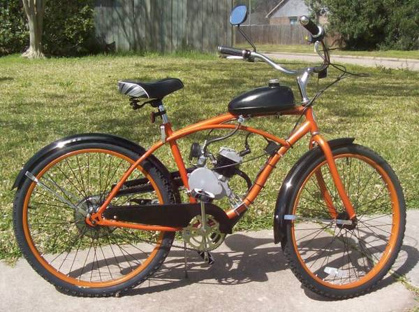 Gas Power Assisted Bicycle - $350 (Houston, TX.)