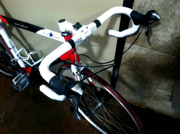 SPEZZOTTO TEAM EDITION  52cm  ITALIAN ROAD BIKE  dura ace ultegra - $945 (Houston  Montrose)