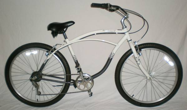 Schwinn Landmark 7 Speed Beach Cruiser Bike Comfort 18 Frame - $150 (Downtown Houston)
