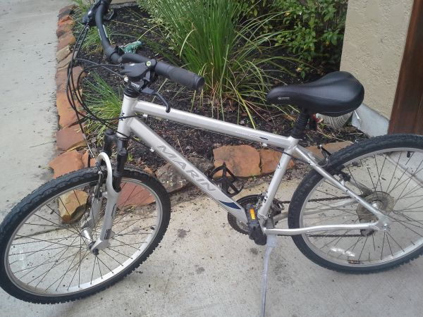 Marin mountain Bike, used (Men or Women) - $80 (Bellaire Galleria area)