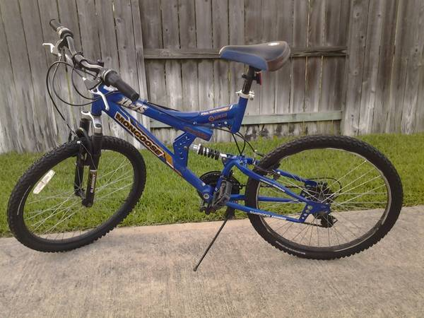 Mongoose XR-75 dual shocks mens boys 24 mountain bike - $65 (Southwest)