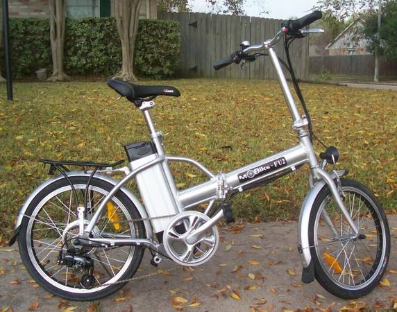 Electric Foldable Bicycle - $525 (Houston, TX.)