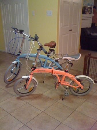 Citizen Bike and Columba Folding Bikes and Thule Bike Rack For Sale (West Houston (Dairy Ashford and Memorial)