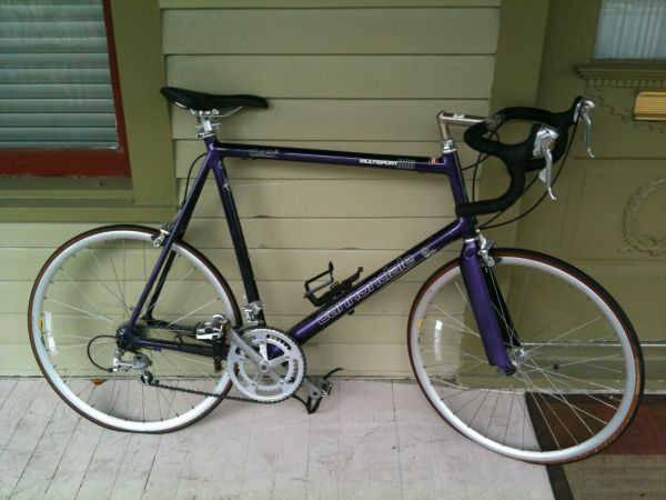 60cm Cannondale Multisport 600 (purple) - $250 (Montrose)