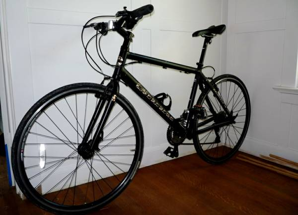 CANNONDALE BAD BOY URBAN HYBRID ROAD BIKE LARGE - $495 (MONTROSE MUSEUM DISTRICT)