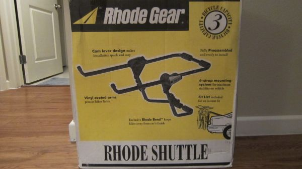 Rhode Gear Rhode Shuttle - 3 Bike Capacity - $40 (Clear Lake City)