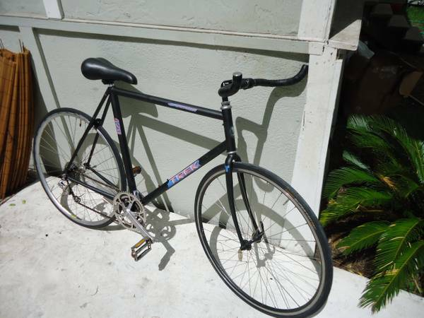 TREK 1420 - Single Speed Road Bike Conversion - Large 61cm - $222 (downtown)