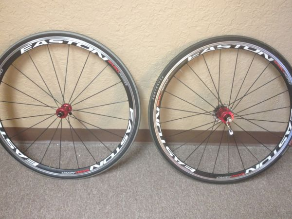 2012 Easton EA50 Aero Wheelset in great used condition - $200 (HighlandsBaytown)