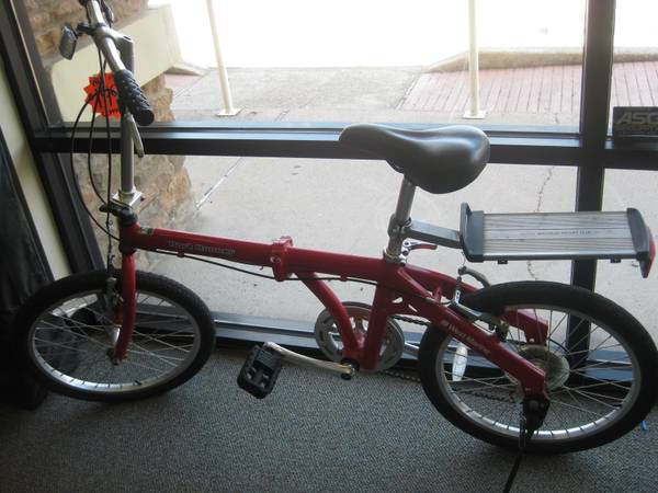 FOLDING BIKE WEST MARINE - $200 (1303 Nasa Rd. 1  77058)