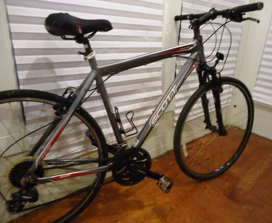SCOTT SPORTSTER  ROAD  TRI  HYBRID BIKE   - $445 (Houston  Midtown)