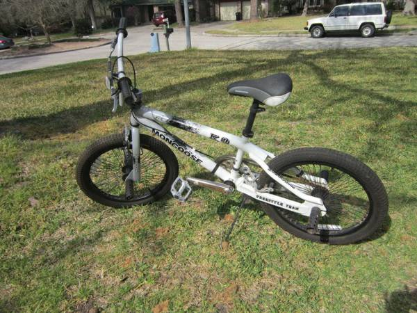 20 Boys Mongoose KO Freestyle Team BMX Bike - $35 (Spring)