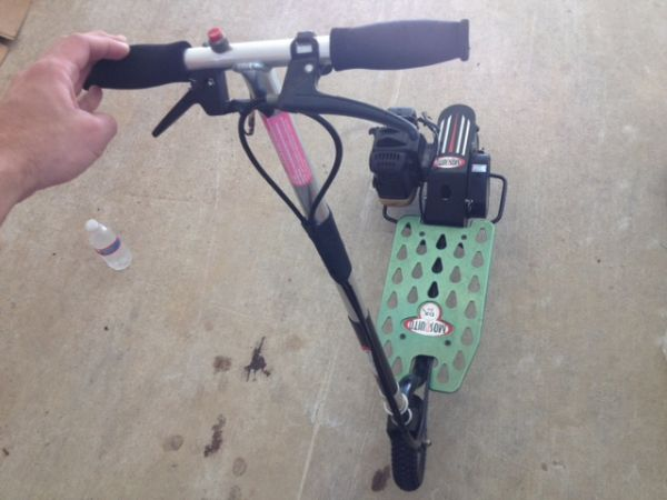 Gas Powered Scooter FAST Moped - $200