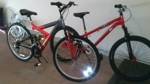 26 Mountain bike Mongoose 24 BMX - $100 (northwest Houston Willowbrook area)