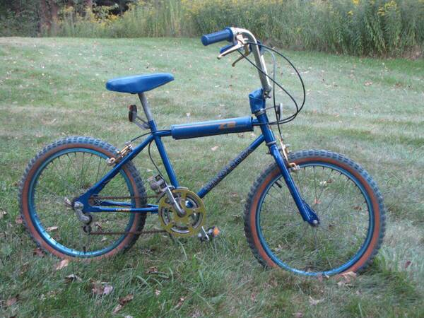 2 vintage old school Mongoose  amp  Thunder BMX bikes - 2 for price of 1  -   x0024 195  Bayou Vista