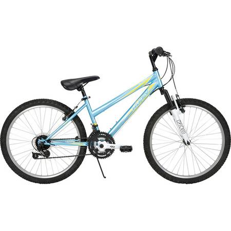 Huffy - Alpine 24 Womens Bike - Sky Blue Metallic - x002475 (Katy)