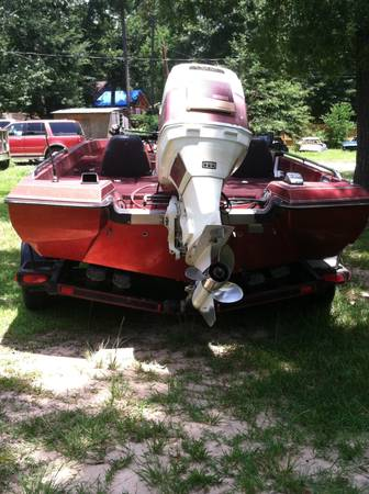 nitro bass boat 175 hp Suzuki motor very fast New seats (Splendora)
