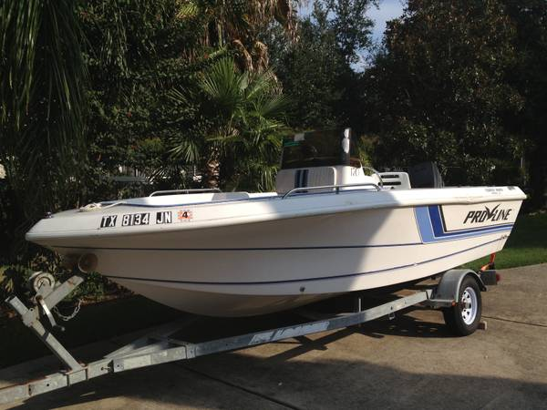 Pro line boats for sale for Used fishing boats for sale in houston