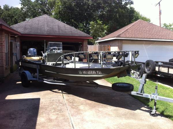 Flounderbowfish boat - $6000 (League City)