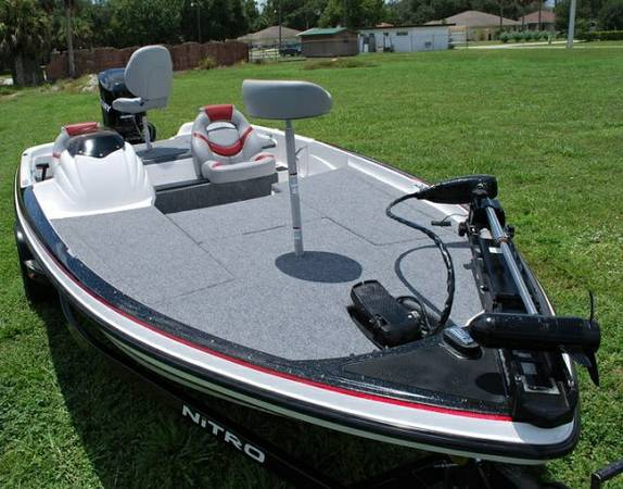 NITRO 2006 Bass boat 591 Clean houston - $4300