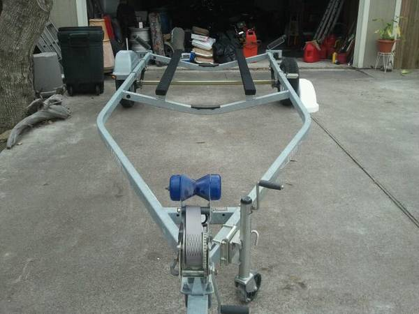 2011 LOWE 18GALVINIZED TRAILER DROP VEE $1200BEST OFFER - x00241200 (LAPORTE)