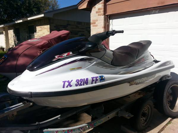 2 Yamaha WaveRunner 1200 XXL Limited Edition Pair-Like New - $6500 (Katy)
