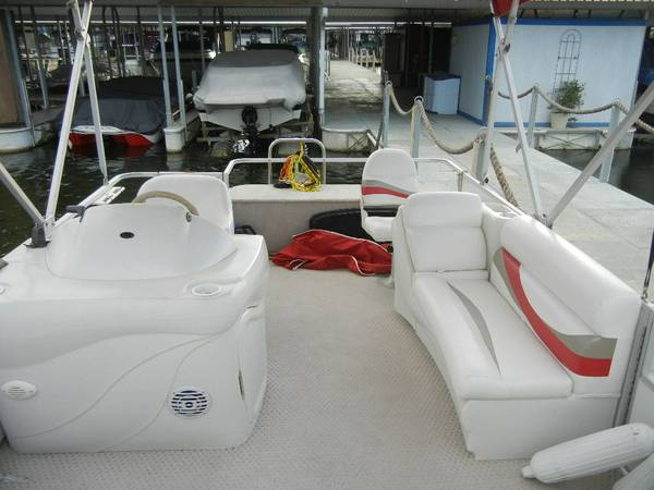 2007 21ft Sunset Bay Pontoon Boat - $9900 (Lake Conroe)