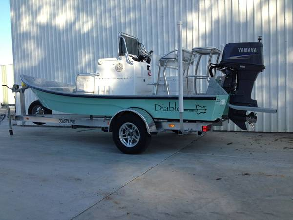 2012 18ft. Shallow Water - $27500 (Houston )