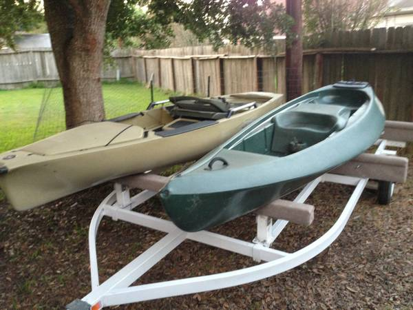 Hobie Pro Angler and Ocean Kayak Ambush WTrailer - $2500 (League City, Tx)