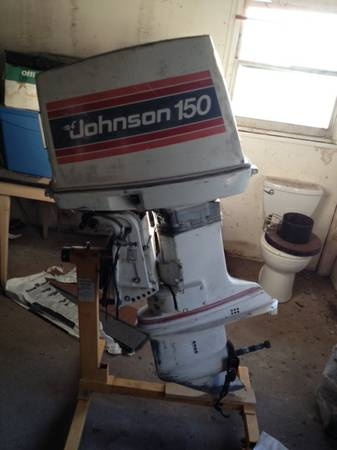 150 hp johnson outboard for sale