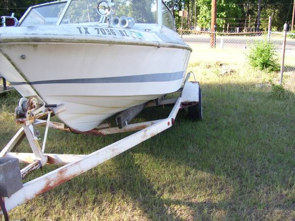 Vintage 1969 Larson Ski Boat and motor (project) - $475 (longview, texas)