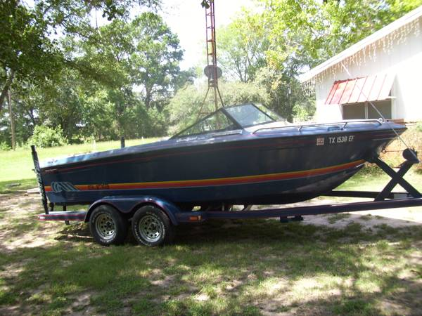 REDUCED1986 Supra Sunsetter V Drive Ski Boat - $6500 (Flynn Texas)