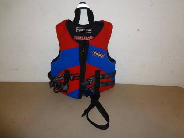 OCEAN PACIFIC CHILDS LIFE JACKET VEST (30-50)BLUERED III V NICE - $20 (NW HOU)