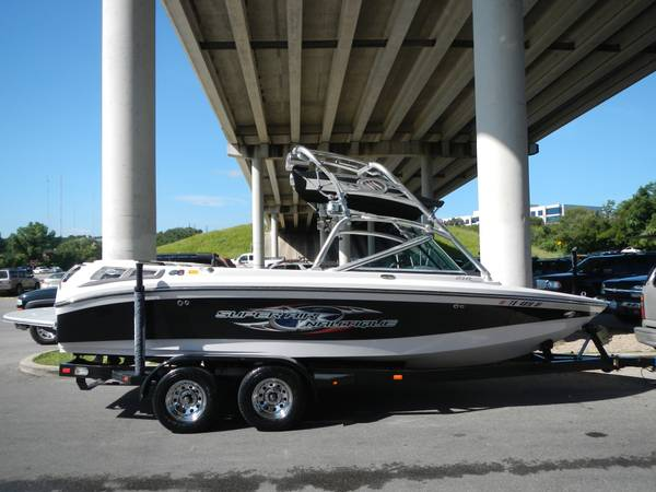 Fully loaded 2007 Super Air Nautique 210 Team Edition - $38000 (Austin, Texas)