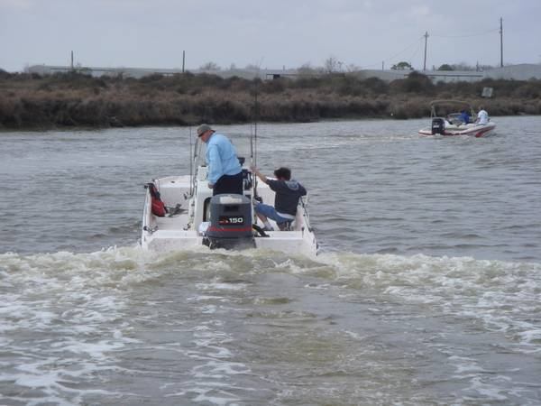 1985 22ft Red-Fin Boat With 96 YAMAHA 150hp V6 - $7200 (League City, TX)